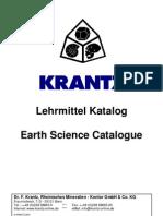 Krantz Lehrmittel Katalog  2012