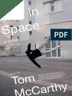 Men in Space by Tom McCarthy (Excerpt)