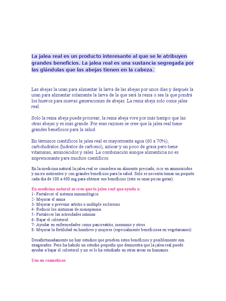 Real beneficios pdf jalea