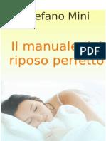 Il Manuale Del Riposo Perfetto