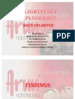 Arun Unlimited - Survey Results and Interpretation