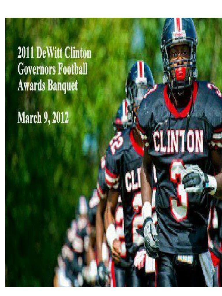 TeamPDQ Awards Banquet Journal | College Football | Quarterback