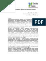 Agroecologia e Historia Agraria