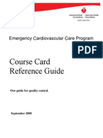 AHA Course Card Ref Guide