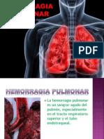 Hemorragia pulmonar