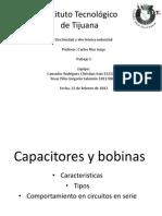 capacitores y bobinas