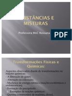 Substâncias e Misturas - aula 3 PARTE B (1)