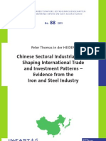 Heiden, In Der (2011) Chinese Sectoral Policy - The Chinese Steel Sector