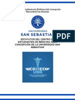 Estatuto Del Centro de Estudiantes de Medicina Uss Concepcion