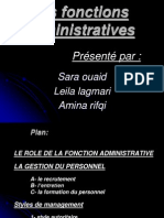 Les Fonctions Administratives(1)