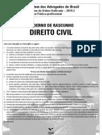 Prova Direito Civil 2010.2
