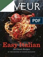 Saveur Easy Italian