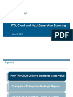 ITO, Cloud and Next Generation Sourcing