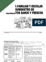 Huerta Escolar y Familiar Suministro de Alimentos Sanos y Frescos