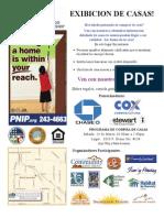 wPNIP Open House Flyer Spanish Version