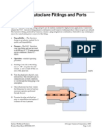 Autoclave Fitting