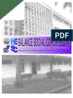 Balance Social CSC ECS 2010