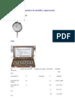 Instrumentos de Medida y Apreciación-Ejercicio
