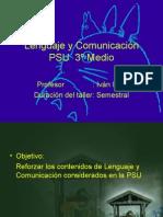 presentación PSU 3º