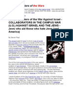 Jewish Enablers of the Wars