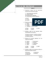 Práctica  - Biología - Práctica de Repaso