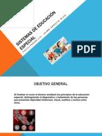 SISTEMAS DE EDUCACIÓN ESPECIAL