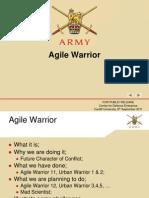 4 - Army Agile Warrior (8 Sep 2011 - Cardiff)