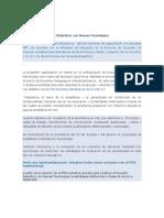 Gestión de Proyectos Didácticos con Nuevas Tecnologías