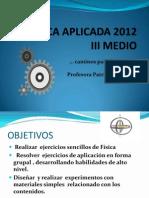III Fisica Aplicada 2012