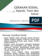 Konsep, Teori Dan Kasus Gerakan Sosial