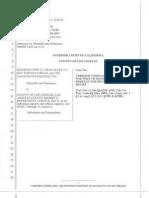 Calguns Foundation - Lu v. Baca (2012, Complaint)