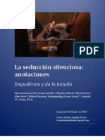 La seducción silenciosa