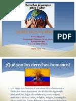 Exposición derechos humanos Arturo