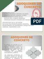 Adoquines de Concreto Expo Sic Ion