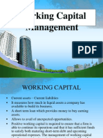 Working Capital Management Ppt @ Bec Doms Bagalkot Mba