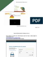 Administración Sitio Web Artelena