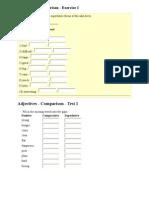 Adjectives Parts of Speech