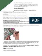 Mainboard - Những lỗi thường gặp và hướng sửa chữa