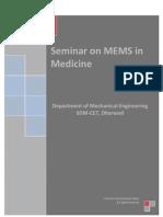 Seminar on MEMS in Medecine