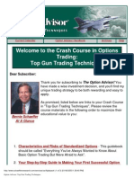 Bernie Schaeffer - Option Advisor - Top Gun Trading pdf