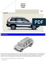 VOLVO XC90 2005 User Manual