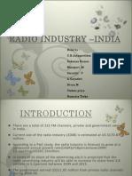 Radio Industry _india Final