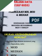 Min Mod Median