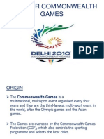 Need for Commonwealth Games