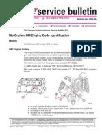02-08 Mercruiser Engine ID