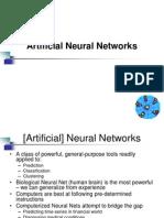 Artificial Neuarl Networks