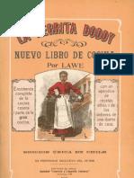La Negrita Doddy El Nuevo Libro de Cocina Chilena(1911)