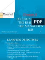 chapter6-decisionmakingtheessenceofthemanagersjob-090411125722-phpapp01