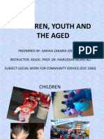 Children, Youth and the Aged- Saniah