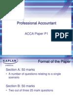 Acca p1 Slides 2011